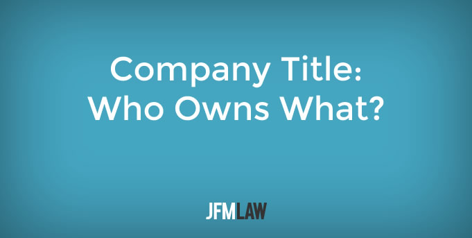 Company Title – Who Owns What?