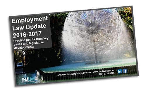 Employment Law Update 2016-17
