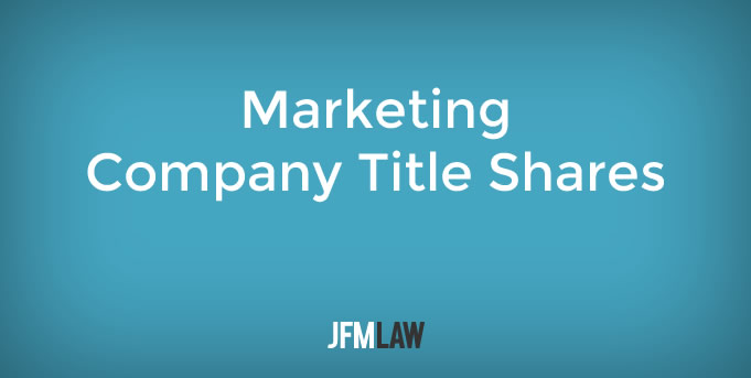 Marketing Company Title Shares