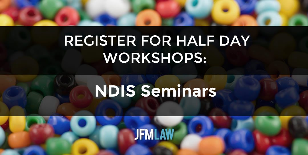 Our NDIS Seminars: Register Your Interest
