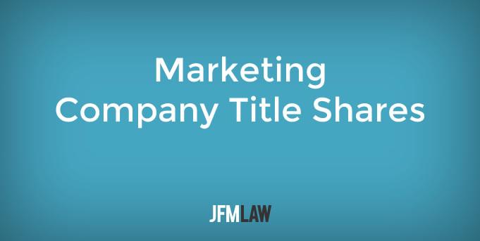 Marketing Company Title Shares
