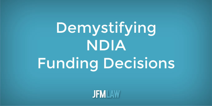 Demystifying NDIA Funding Decisions