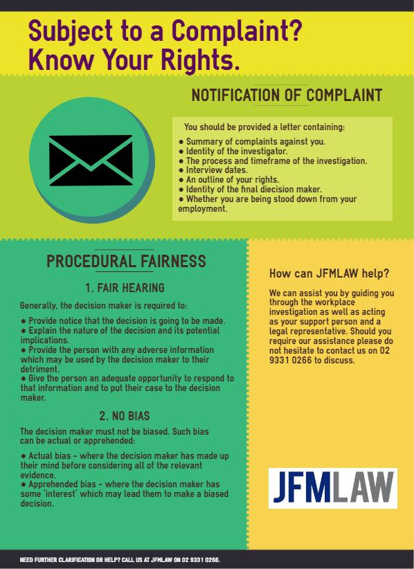 workplace complaints