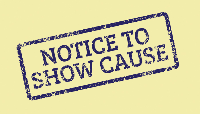 What is a Notice to Show Cause (NTSC) issued by NSW Fair Trading?