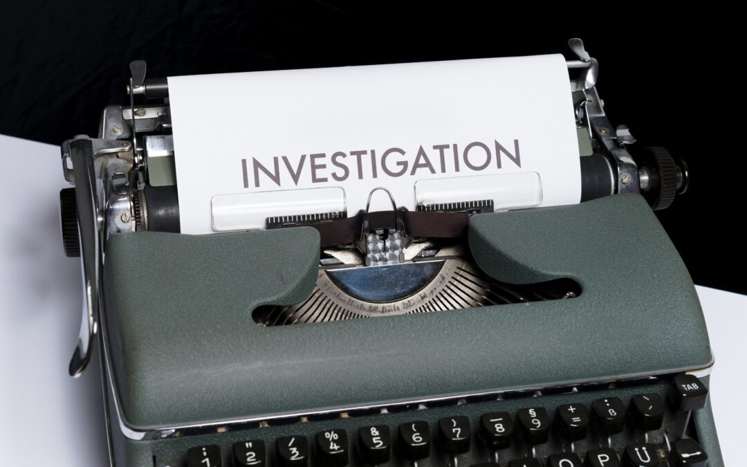 Carrying out a workplace investigation
